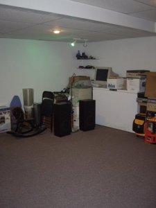 Gross and sad basement