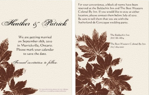 wedding crafts – Save the Date Poems for Weddings
