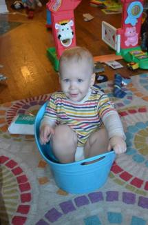 Buckets are great fun