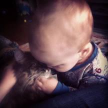 Cuddles for Byron