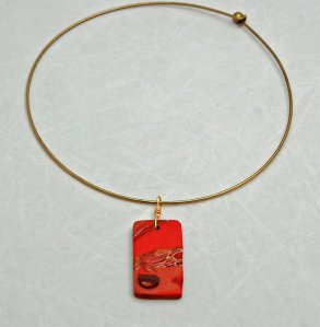 A sample necklace
