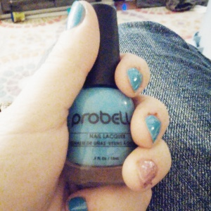 Probelle Into The Blue Nail Polish