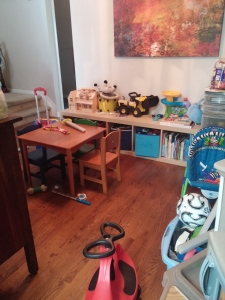 Liam's new playroom