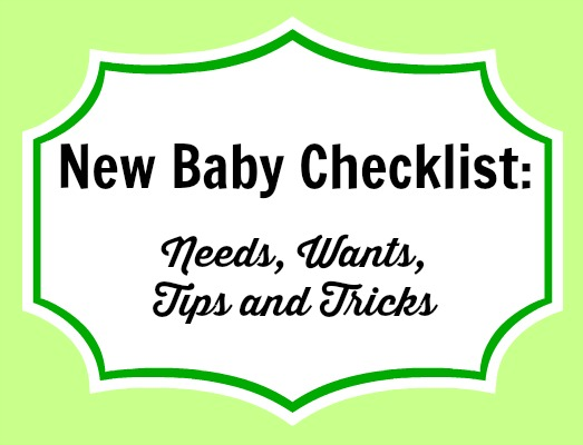 header image for the new baby checklist